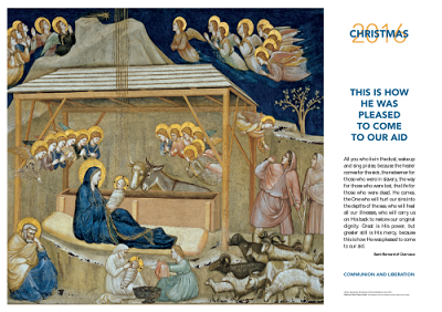 Christmas History In English.Christmas 2016 The Poster Of Communion And Liberation
