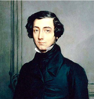 Alexis de Tocqueville by Theodore Chasseriau.