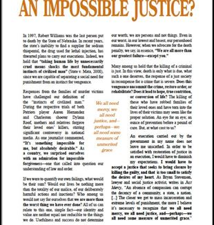 An Impossible Justice