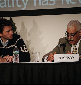 Tommaso Bardelli (left) and Dan Jusino. Photo by Migi Fabara Martinez