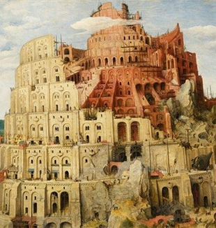 The Tower of Babel by Pieter Brueghel the Elder.
