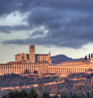 Skyline of Assisi. Wikimedia Commons