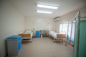 Room in the maternity home facility