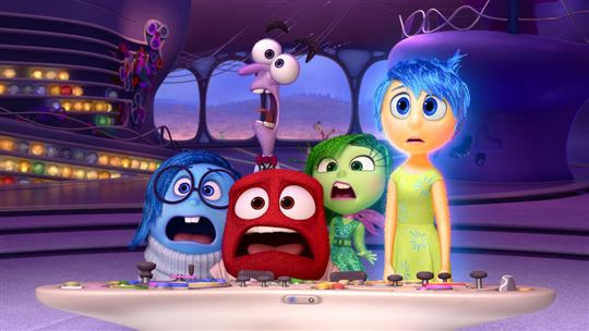 Still from Pixar's Inside Out. Photo / Flickr