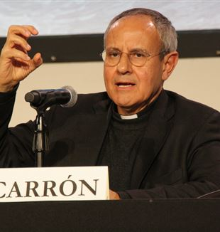 Fr. Julián Carrón. Photo by Margerita Daho