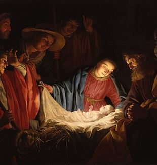 Gerard van Honthorst - Adoration of the Shepherds (1622). Photo/wikimedia