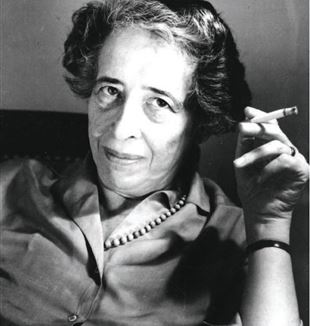 German Born American Political Theorist Hannah Arendt. Flickr