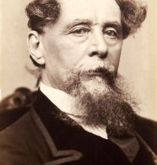 Author Charles Dickens. Wikimedia Commons
