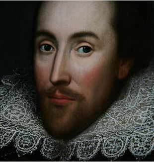 Portrait of William Shakespeare. Photo by Lefteris Pitarakis/Associated Press via Wikimedia Commons
