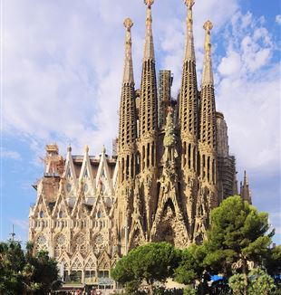 Sagrada Familia. Wikimedia Commons