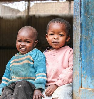 Children in Kenya. Flickr