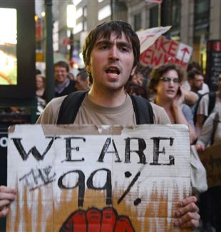 Occupy Wall Street. Photo by Paul Stein