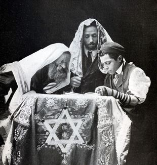 A Jewish Confirmation sometime in the Early 20th Century. Wikimedia Commons