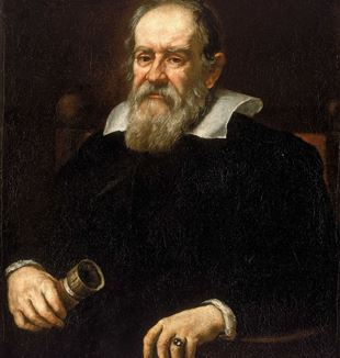 Portrait of Galileo Galilei by Justus Sustermans via Wikimedia Commons