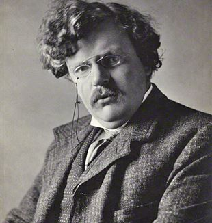 G.K. Chesterton. Wikimedia Commons