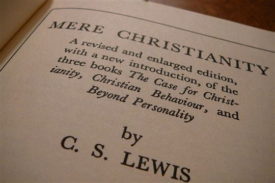'Mere Christianity' by C.S. Lewis. Creative Commons CC0