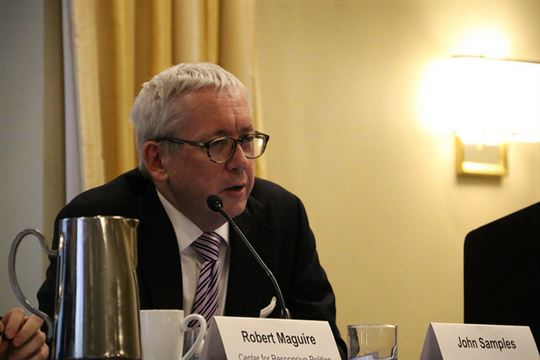 John Samples. Photo by OSCE Parliamentary Assembly via Flickr