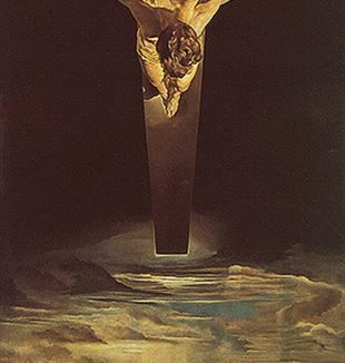 'Christ of Saint John of the Cross' by Artit Salvador Dali via Flickr