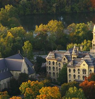 University of Notre Dame Campus. Wikimedia Commons