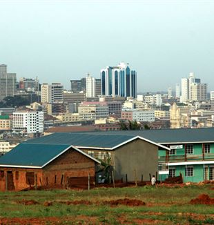 The Kampala Skyline. Wikimedia Commons