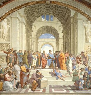 School of Athens by Raffaello Sanzio da Urbino
