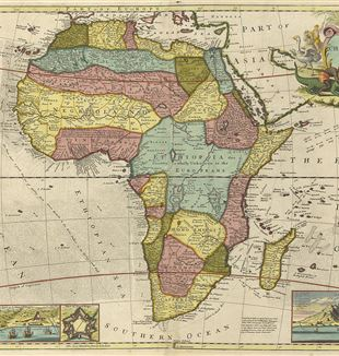 Early Map of Africa. Wikimedia Commons