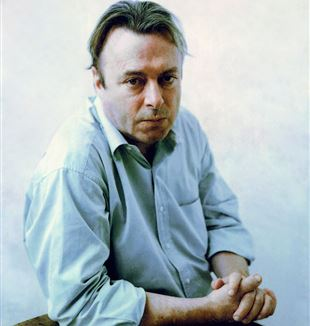Christopher Hitchens. Wikimedia Commons