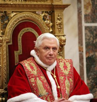 Pope Benedict XVI. Wikimedia Commons