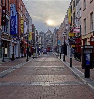 Dublin, Ireland. Via Wikimedia Commons