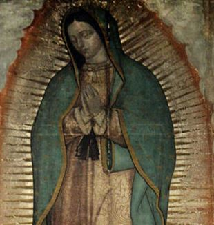 Our Lady of Guadalupe. Via Wikimedia Commons