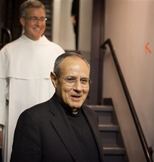 Fr. Julián Carrón. Photo by Emily Marsolek