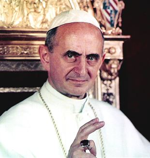 Pope Paul VI. Via Wikimedia Commons