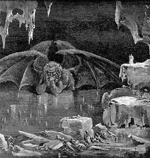 Lucifer, King of Hell by Gustave Doré