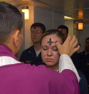 Ash Wednesday. Wikimedia Commons
