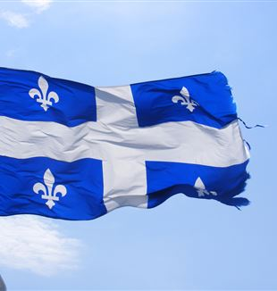 Québec Flag. Via Flickr