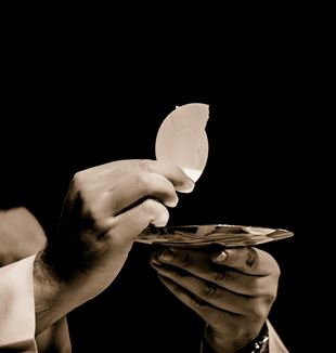 The Eucharist. Creative Commons CC0