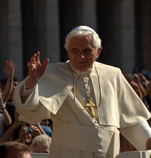 Pope Benedict XVI. Flickr