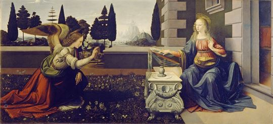 The Annunciation. Creative Commons CC0