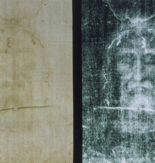 The Shroud of Turin. Wikimedia Commons