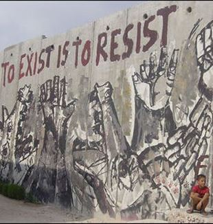 A Wall in Palestine. Flickr