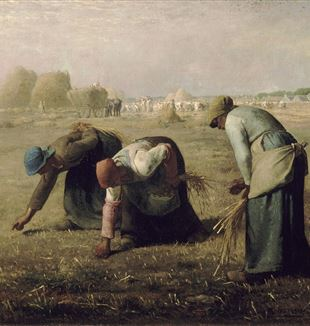 Gleaners by Jean-François Millet