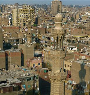 Cairo, Egypt. Wikimedia Commons