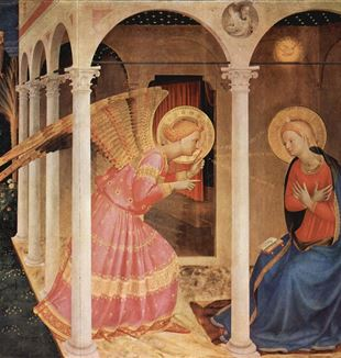 The Annunciation. Wikimedia Commons