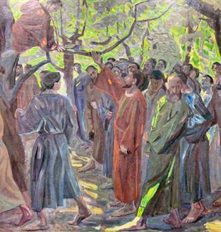 Zacchaeus by Niels Larsen Stevns via Wikimedia Commons