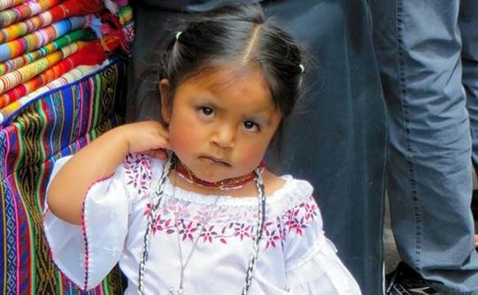Ecuadorean Child. Creative Commons CC0
