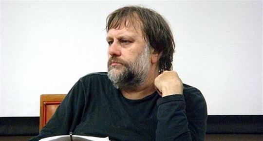 Slavoj Zizek. Photo by Andy Miah