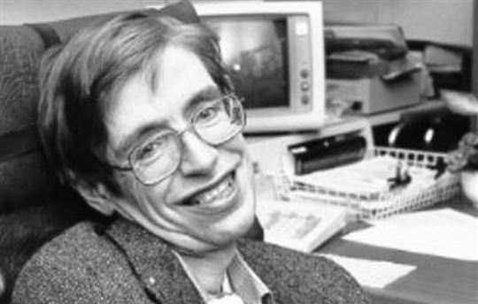 Stephen Hawking. Photo by NASA via Wikimedia Commons