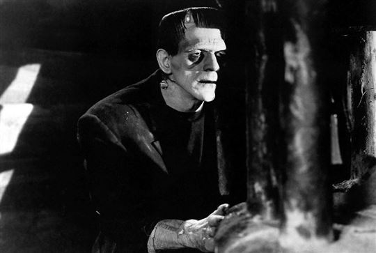Boris Karloff as Frankenstein's monster. Photo / Flickr