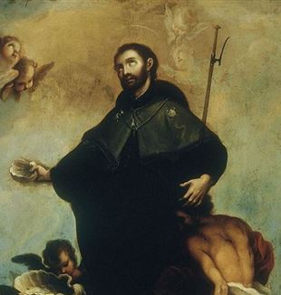 Patron Saint of Missionaries 'St. Francis Xavier' by Miguel Cabrera via Wikimedia Commons