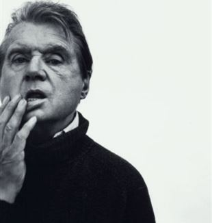 Francis Bacon. Photo by Richard Avedon via Flick